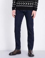 Ralph Lauren Purple Label Somerset slim-fit straight stretch-denim jeans