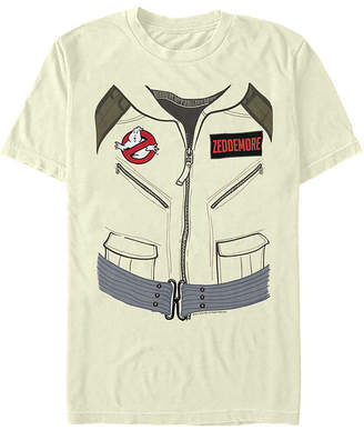 Fifth Sun Ghostbusters Zeddemore Costume Mens Crew Neck Short Sleeve Graphic T-Shirt