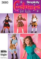 Simplicity Sewing Pattern 3680 Child Costumes