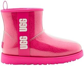UGG Classic Mini Clear Rain Boots