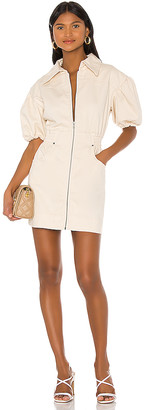 C/Meo Peripheral Short Sleeve Dress. - size L (also