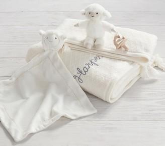 Pottery Barn Kids Lamb Snuggle Gift Bundle