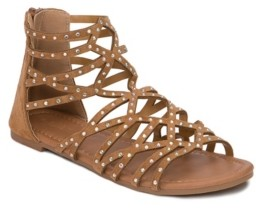 OLIVIA MILLER Kissimmee Rhinestone Studded Sandals Women's Shoes
