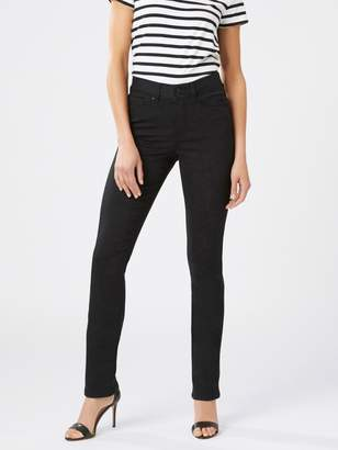 Jeanswest Tummy Trimmer Slim Straight Jeans Black