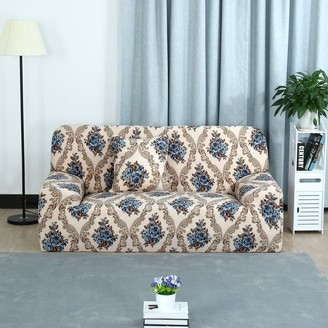 Overstock Home Stretch 1/2/3 Seats Sofa Cover Loveseat Couch Slipcovers - Style 6