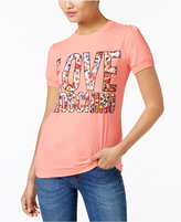Love Moschino Logo Graphic T-Shirt