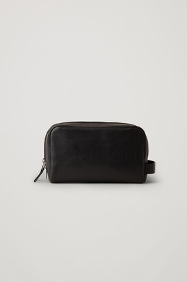 Cos Leather Wash Bag