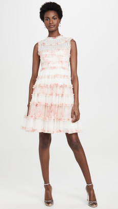 Needle & Thread Memory Rose Sleeveless Dress