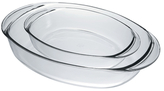 Duralex Oval Roaster Pans (Set of 2)