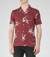Reiss Oakhart Floral Printed Shirt