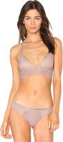 Calvin Klein Underwear CK Black Excite Triangle Bra in Lavender. - size L (also in M,S)