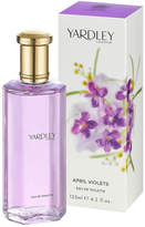 Yardley London April Violet Eau de Toilette Spray by 125ml Spray)