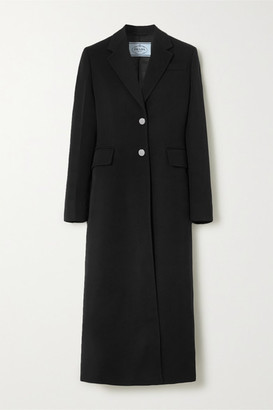 Prada Wool Coat - Black