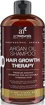 Art Naturals Sulfate Free Organic Argan Oil Hair Loss Shampoo, 16 oz (3 Month Supply)