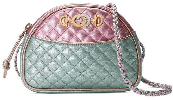 f771fab97c80 Gucci Pink Metallic Leather Handbags - ShopStyle