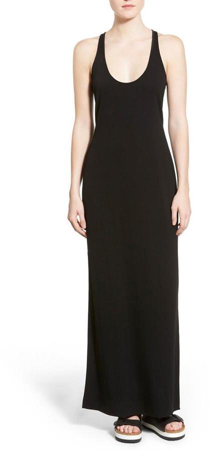 James Perse Luxe Tank Maxi Dress