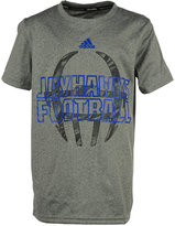 adidas Little Boys' Kansas Jayhawks Sideline Climalite T-Shirt