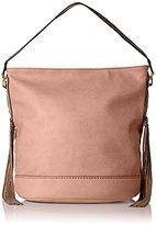 MG Collection Janna Tassel Slouchy Shopper Hobo Shoulder Bag
