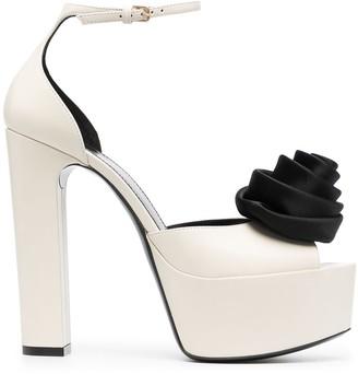 Saint Laurent Jodie platform sandals