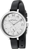 Marc by Marc Jacobs Marc By Marc Women's Sally MJ1419 Leather Quartz Watch