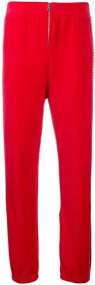 Juicy Couture Swarovski embellished jogger pant