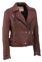 Wilsons Leather Womens Vintage Bubble Lamb Jacket
