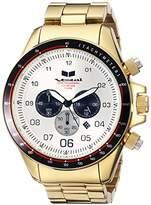 Vestal Men's ZR3031 ZR-3 Analog Display Japanese Quartz Gold Watch