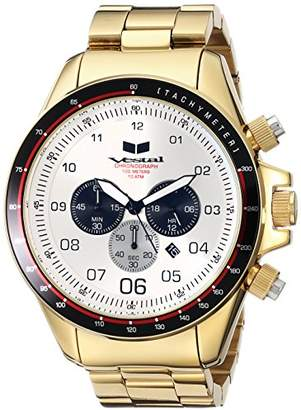 Vestal Men's ZR3031 ZR-3 Analog Display Japanese Quartz Gold Watch