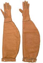Nehera long leather gloves
