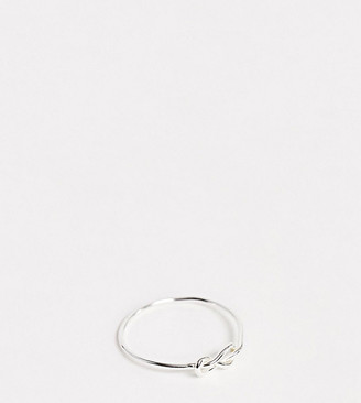 Kingsley Ryan sterling silver knot detail ring