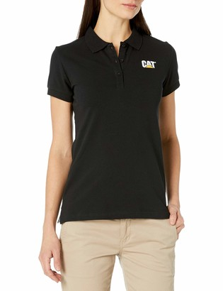 Caterpillar Women's Logo Short Sleeve Polo