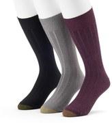 Gold Toe Men's GOLDTOE 3-pack Hampton Fashion Dress Socks