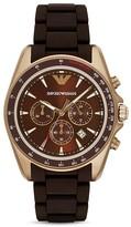 Emporio Armani Chronograph Link Bracelet Watch, 44mm