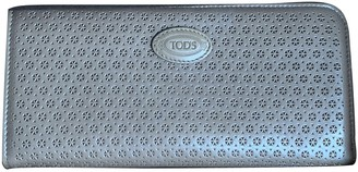 Tod's Grey Patent leather Wallets