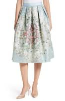 Ted Baker Women's Kikey Pleated Metallic Skirt