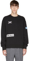 Tiger of Sweden Black Mikael Patches Sweatshirt