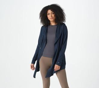 zuda Z-Knit French Terry Long Sleeve Cardigan