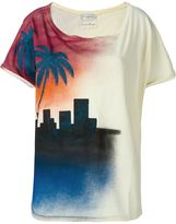 Faith Connexion sundown print T-shirt - women - Cotton - M