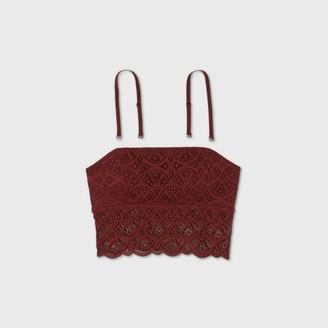 Women's Lace Longline Bralette - ColsieTM