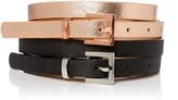 Portmans Metallic Belt 2 Pack