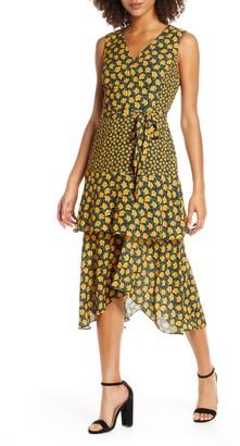 Sam Edelman Bold Poppy Print Dress