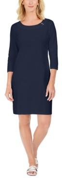 Karen Scott Sport Cotton Hardware Dress, Created for Macy's