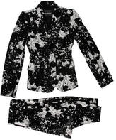 Monique Lhuillier Lace Color Block Pantsuit