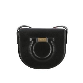 Salvatore Ferragamo Mini Bag City Hook Shoulder Bag In Genuine Leather