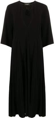DSQUARED2 oversized plunge neck dress