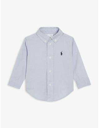 Ralph Lauren Embroidered pony cotton shirt 9-24 months