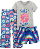 Carter's 3-Pc. Sweet Dreams Pajama Set, Little Girls and Big Girls