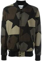 Ports 1961 camouflage print bomber jacket - men - Cotton - S