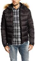 Japan Rags Men's Down Long sleeve Jacket - Grey -