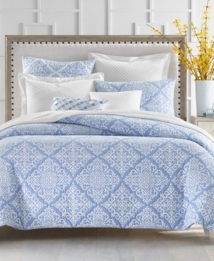 Charter Club Medallion 2-Pc. Twin Duvet Cover Set, Created for Macy's Bedding
